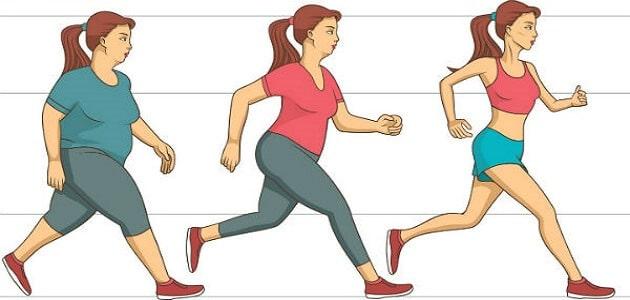 كيفية خسارة الوزن بطريقه سريعة