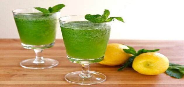 فوائد عصير الليمون بالنعناع وطريقة تحضيره